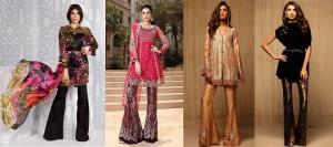 Stylish Pakistani Party Wear Dresses 2017