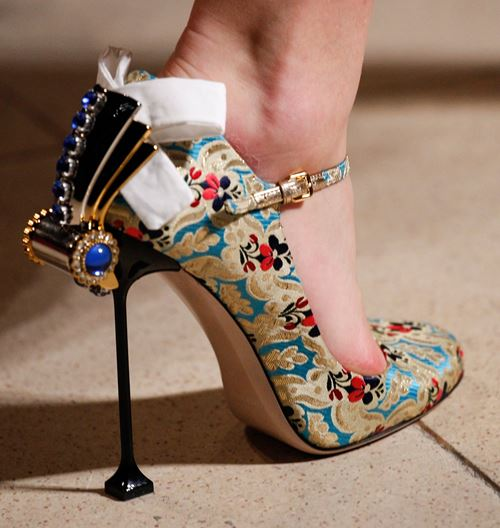 Top winter fall 2016-2017 embellished heel trend