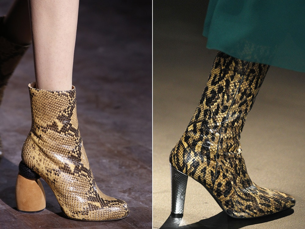 Top winter fall 2016-2017 animal printed shoes trend