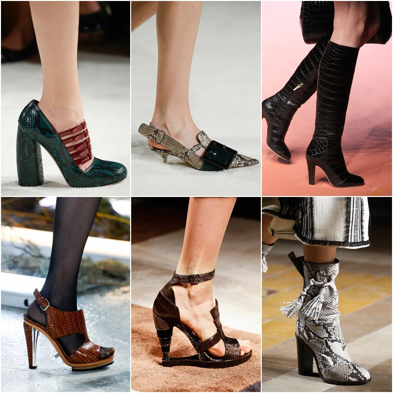 Top Winter 2017 Women Shoes Trends from Runways