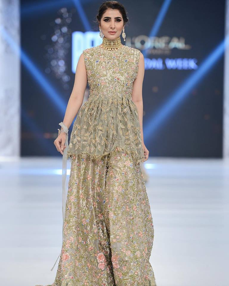 pakistani designers dress 2016-2017