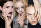 nyfw fall 2016-2017 simple nail trend