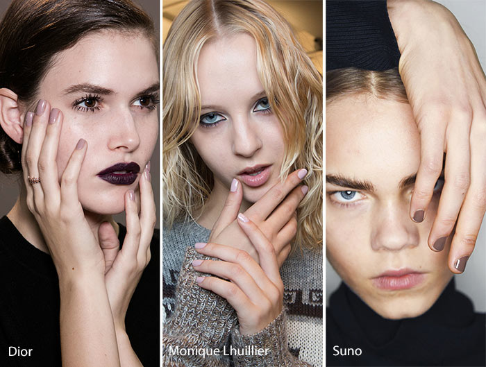 Latest 7 Fall Winter Nail Trends 2017 from NYFW