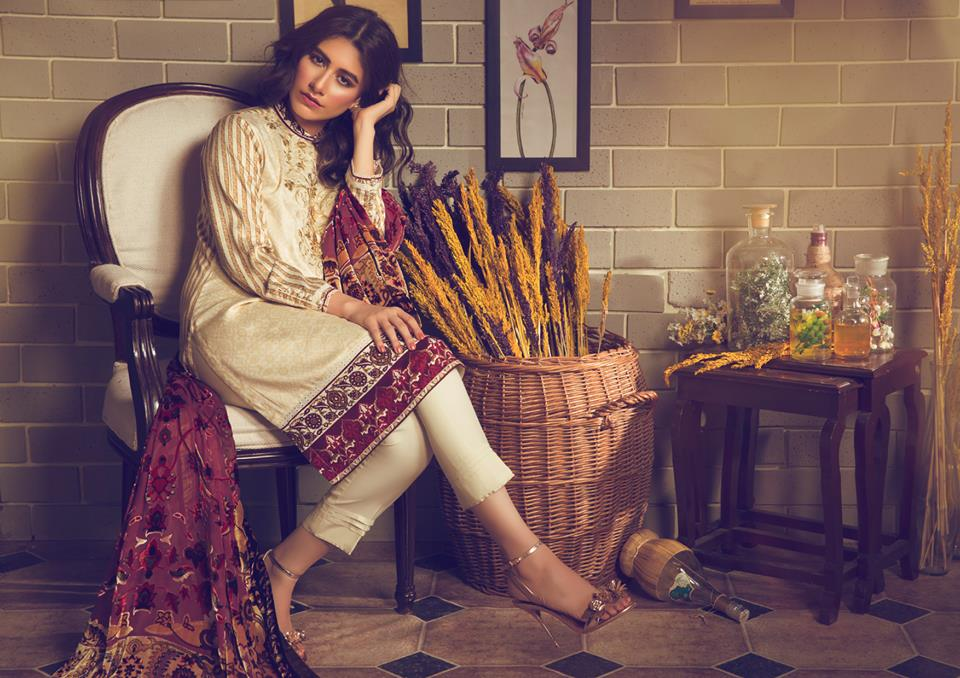Best Pakistani Unstitched Fall/Winter Collections 2017