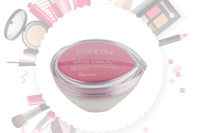 Ponds skin whitening/lightening creams in Pakistan