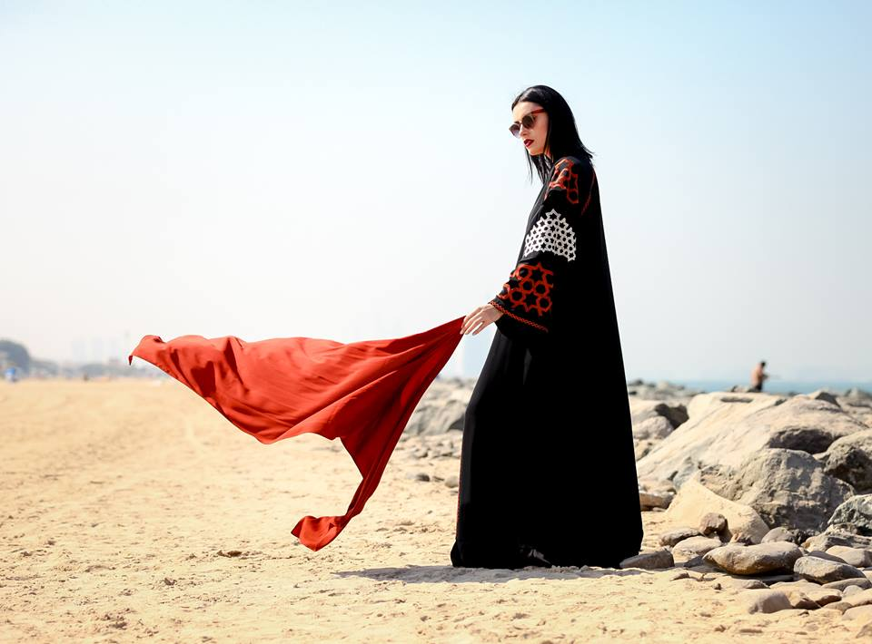New trendy nabrman abaya designs 2016-2017