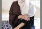 New trendy nabrman embellished abaya designs 2016-2017
