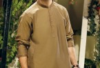 Eden robe Men brown Kurta Design 2016-2017