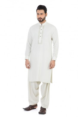 bonanza men white winter kurta design 2016-2017