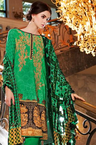 Best Pakistani Unstitched Fall/Winter Collections 2016-2017