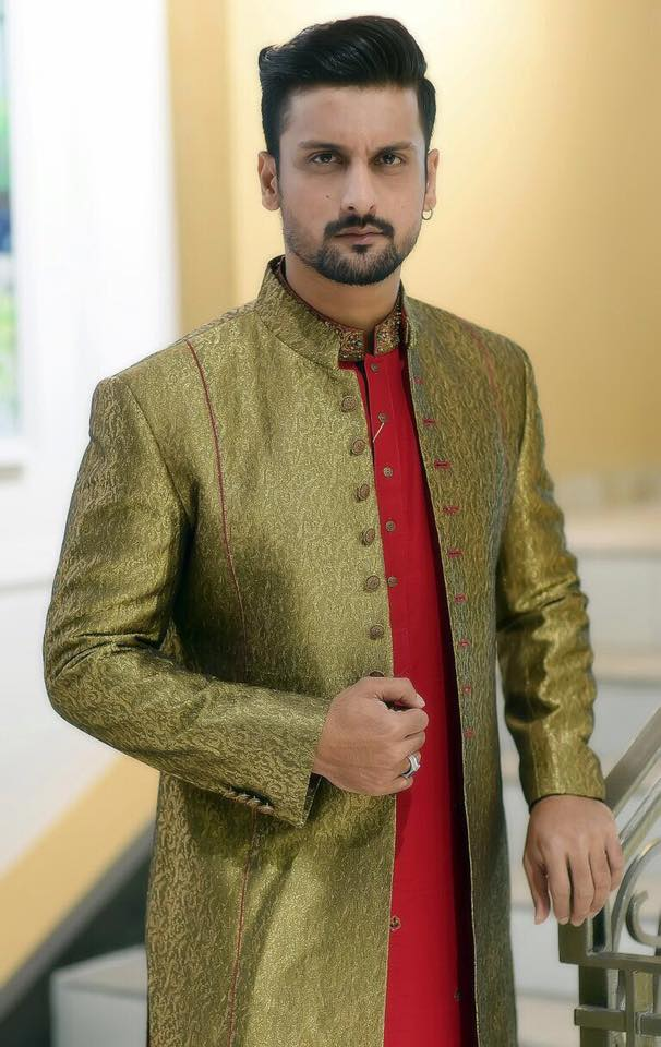 Pakistani Men Wedding Dresses for Groom  By Amir Adnan