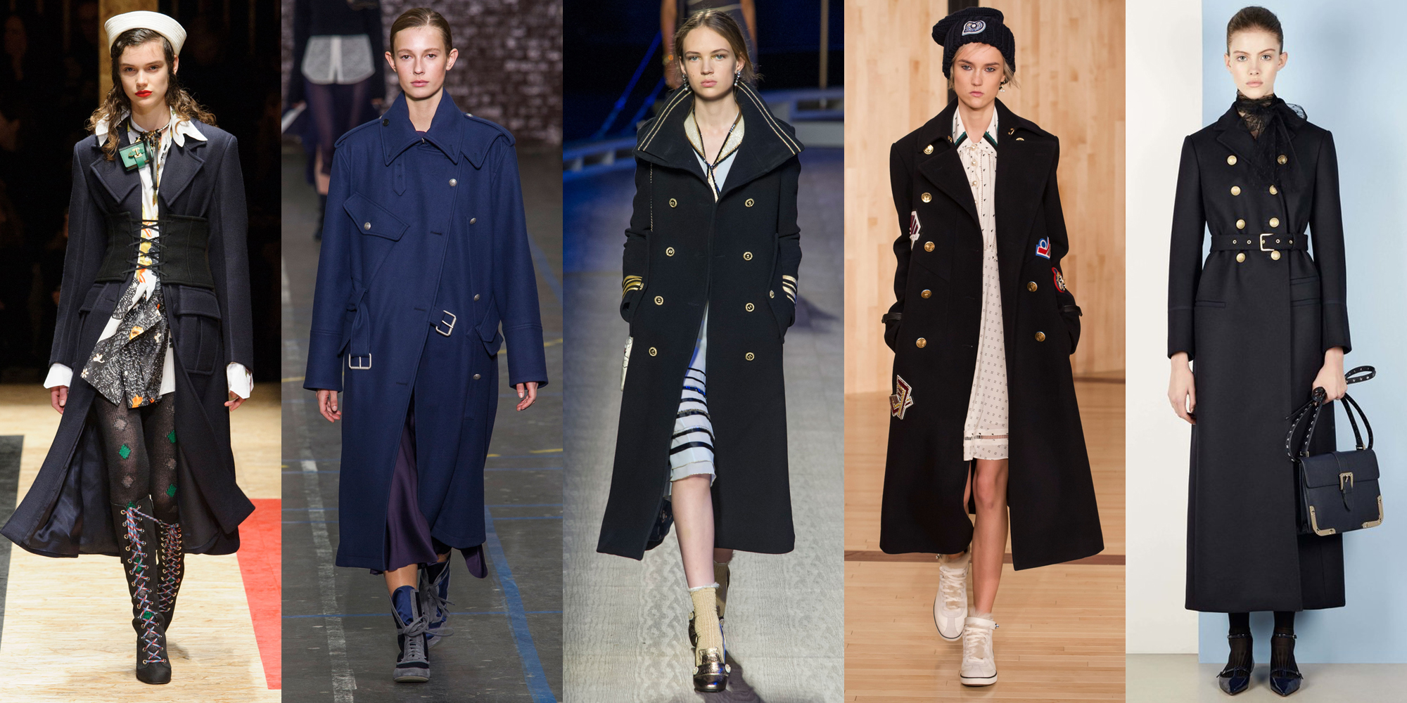 Top Winter/Fall Women Coat Trends 2017 from Runways