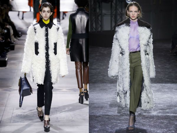 top winter fall 2016-2017 sheepskin coat trend for women