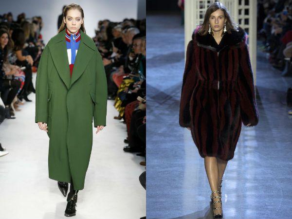 top winter fall 2016-2017 oversized coat trend for women