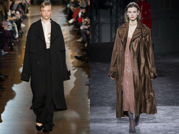 top winter fall 2016-2017 oversized velvet coat trend for women