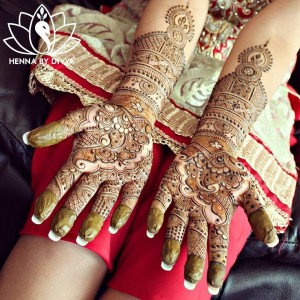 Latest Indian Mehndi Designs for Eid 2017