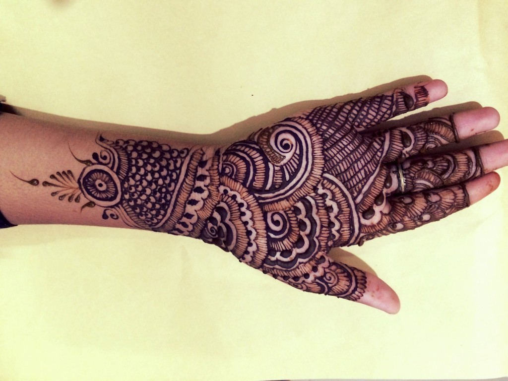 Mehndi Designs For Hands Eid : Mehndi design on palm makedes
