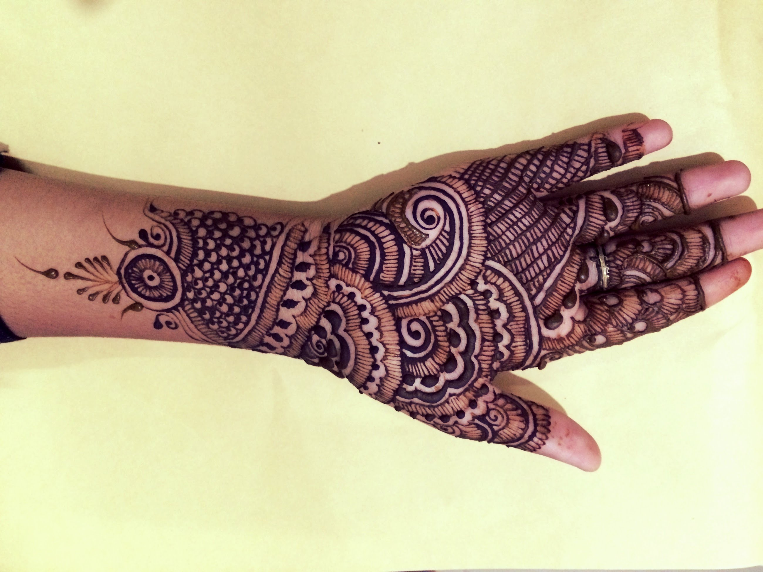 Mehndi Designs Latest New Style : Latest new style eid mehndi designs for hands fashionglint