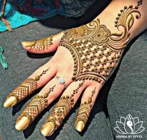 New Style Eid Mehndi Designs 2017