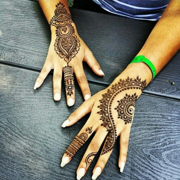 Pakistani Mehndi Designs 2017 for Hands