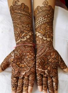 Latest Indian Mehndi Designs for Eid