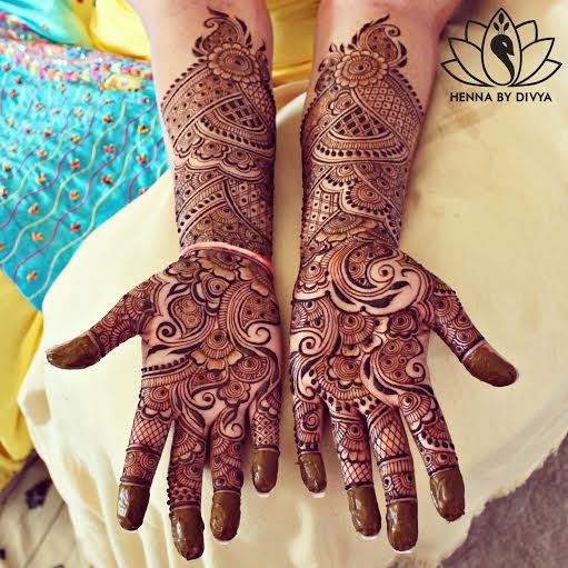 Traditional Indian Mehndi Designs 2017