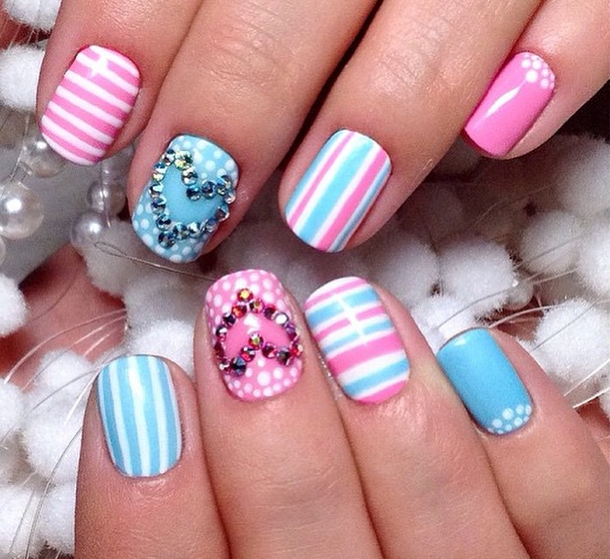 Best Spring Summer Nail Art Design Ideas 2017 For Girls