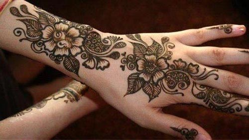 Beautiful Eid Ul Fiter mehndi designs 2017 for back of hand