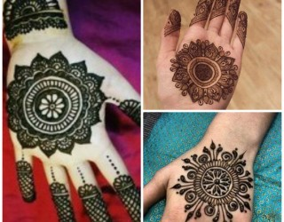 Latest New Style Eid Mehndi Designs For Hands 2017