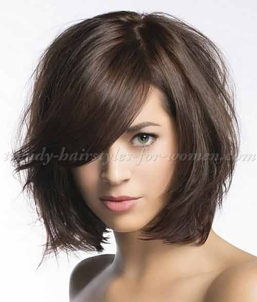 latest shoulder length best summer short hairstyles 2020 in pakistan with bangs