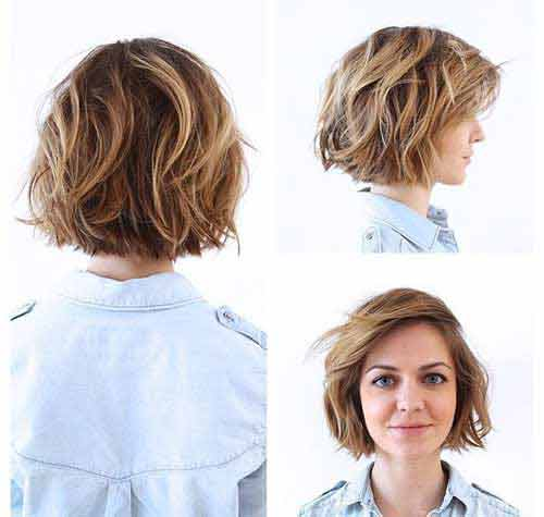 New trendy best summer short hairstyles 2020 in pakistan for thin hair