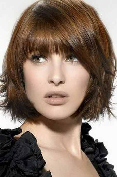 Latest best summer short hairstyles 2020 in pakistan with front hair bangs