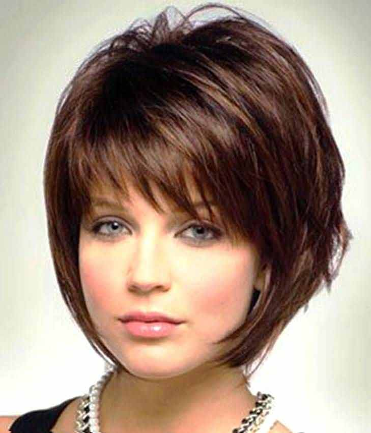 Cool best summer short hairstyles 2017 in pakistan with front hair bangs