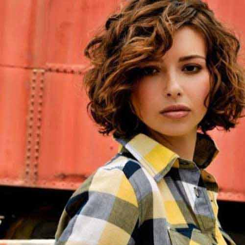 Latest best summer short hairstyles 2017 in pakistan for curly hair