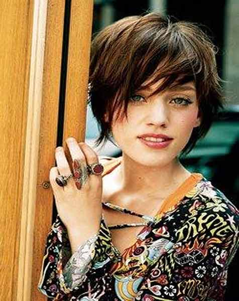 Trendy short pixie haircut best summer short hairstyles 2017 in pakistan