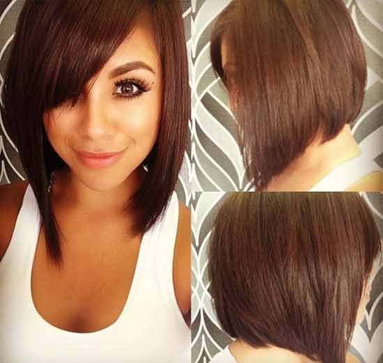 Latest reverse bob best summer short hairstyles 2020 in pakistan
