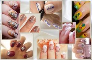wedding nail designs 2017 in Pakistan