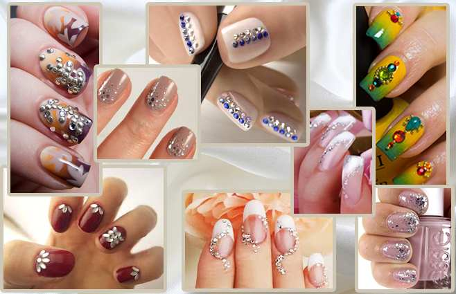 wedding nail designs 2017 in Pakistan