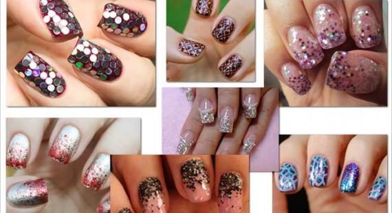 latest bridal nails 2017
