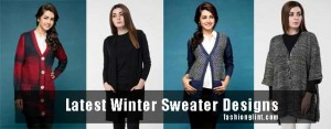 new styles of latest winter sweater designs 2017 for pakistani girls