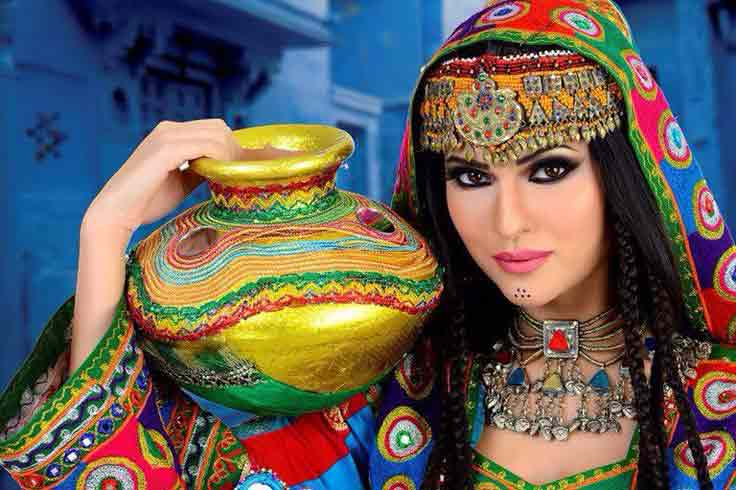 Pathani or pakhtoon party makeup best eid party makeup ideas 2017 for girls