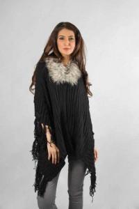 best black wool latest winter sweater designs 2017 for pakistani girls