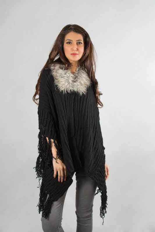 best black wool latest winter sweater designs 2017 for pakistani girls