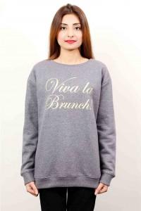 trendy grey latest winter sweater designs 2017 for pakistani girls