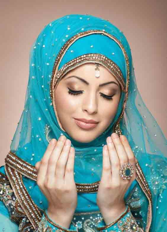 Party makeup with hijab best eid party makeup ideas 2017 for girls