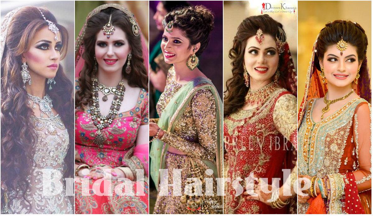 Bridal Hairstyles 2017 in Pakistan