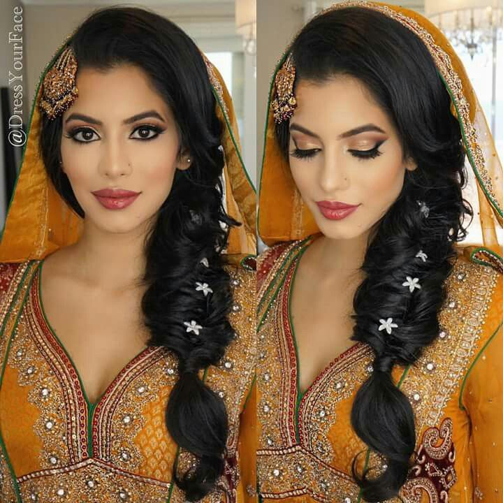 Latest Pakistani Bridal Hairstyle: Latest Pakistani Bridal Hairstyles 2017 For Girlslatest
