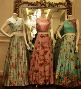 latest lehenga choli designs 2017 in Pakistan