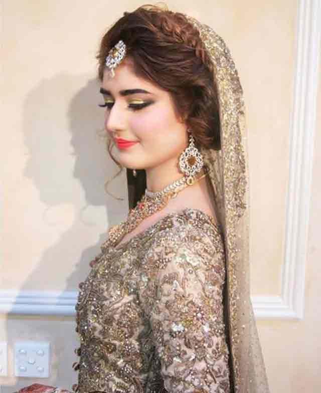 Lehenga-choli-makeup-ideas-for-eid-party | FashionGlint
