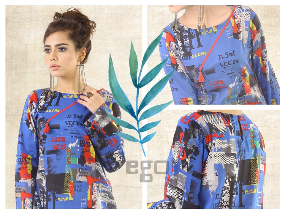 Ego female Kurta Designs 2017 for Summer